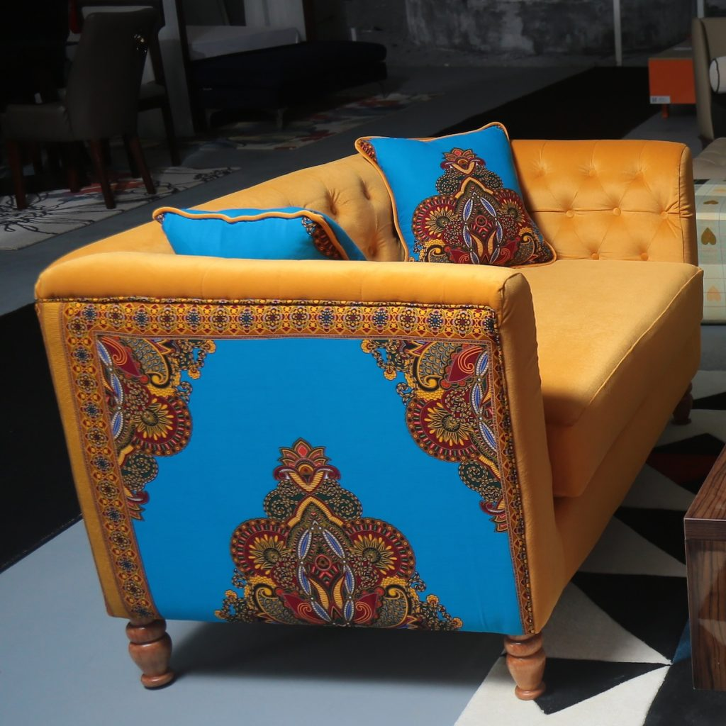 Ankara Love Seat
